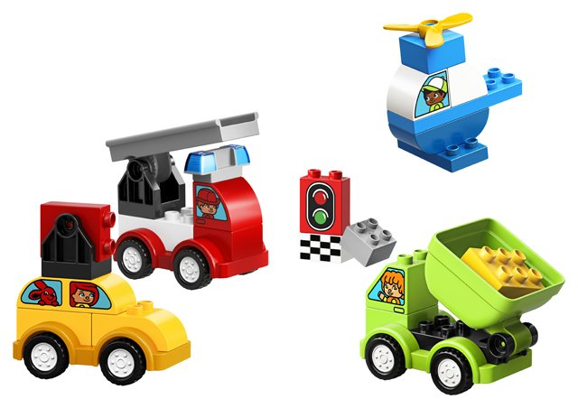 Duplo My First Car Creations Duplo 10886 5702016367584