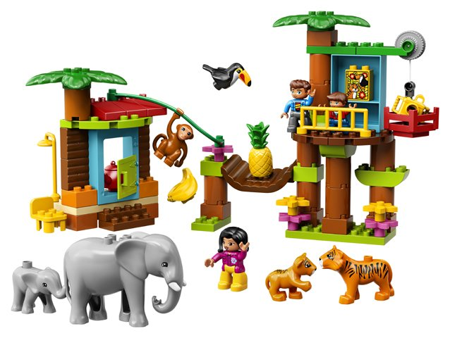 LEGO DUOLO 1 x LÖWIN LÖWE  aus 10907  B1