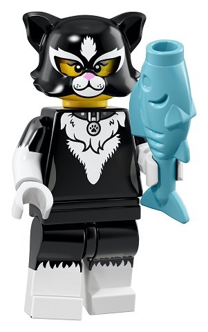 Party Cat Costume Girl LEGO Minifigures 2018 Series 18