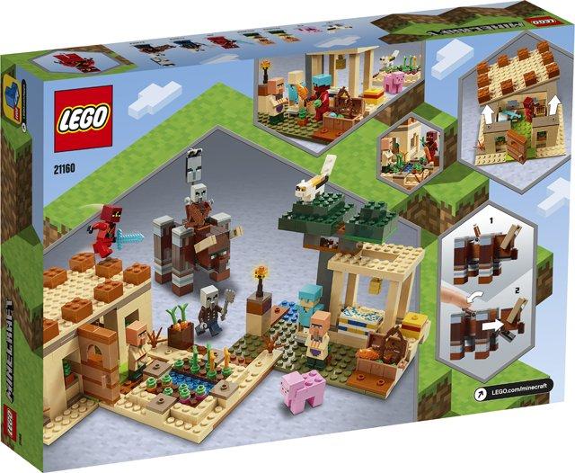 Lego Minecraft The Illagar Raid Lego 21160 5702016618273 Brickshop Lego En Duplo Specialist