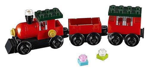 Lego Christmas Train.Lego 30543 Christmas Train Polybag