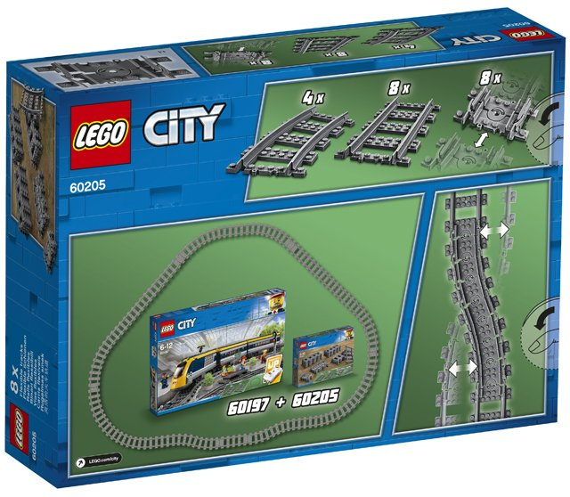 4 X FLEXIBLE TRAIN TRACKS BRAND NEW. LEGO