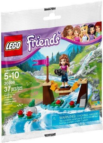 Lego Friends Adventure Camp Bridge Polybag 30398 Minifigure Figurine New