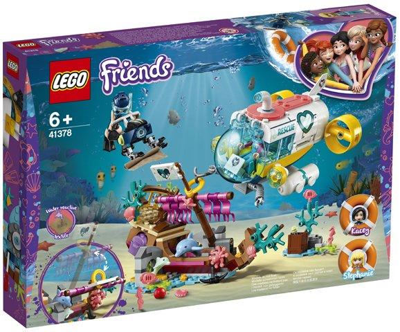LEGO FRIENDS-დელფინების შოუ