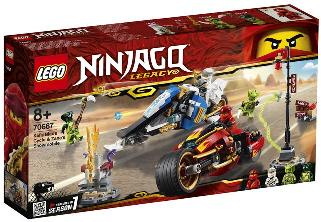 LEGO Ninjago Legacy Lasha Minifigure 70667