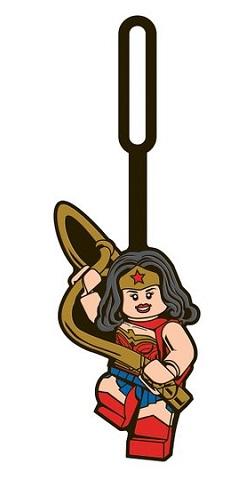 Lego Bag Tag Wonder Woman 4895028525057 Lego Bags Brickshop Lego En Duplo Specialist