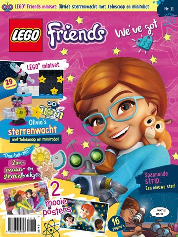 LEGO Friends Magazine 2018-11