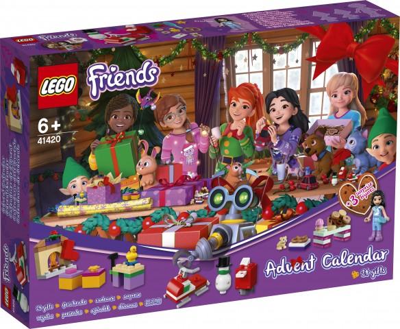Lego Countdown To Christmas Lego Friends 2020 Set LEGO Friends Advent Calendar 2020 Friends (LEGO 41420