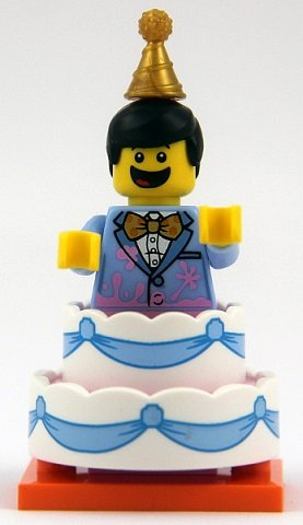 Stupendous Lego Birthday Cake Guy Complete Set Col18 10 Brickshop Personalised Birthday Cards Beptaeletsinfo